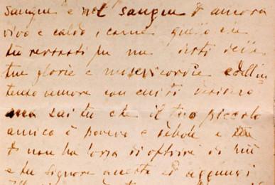 Pagina di sangue del Diario di Mons. Canovai